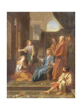 Christ in the House of Martha and Mary Giclee Print by Jean-Baptiste Jouvenet