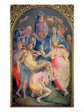 Deposition, 1528 Giclée-tryk af Jacopo da Carucci Pontormo
