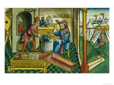 Facsimile Copy of Exodus 31 2-8 Bezalel and Oholiab Making the Ark of the Covenant Giclee Print