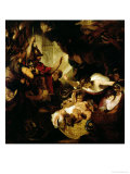 The Infant Hercules Strangling the Serpents, 1786-8 Giclee Print by Joshua Reynolds