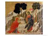 Maesta: Noli Me Tangere, 1308-11 Giclée-tryk af  Duccio di Buoninsegna
