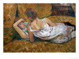 Two Friends Giclee Print by Henri de Toulouse-Lautrec