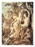Bacchus, Venus and Ceres, circa 1606 Giclee Print by Hendrik Goltzius