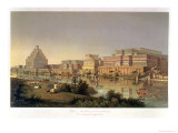 The Palaces of Nimrud Restored, a Reconstruction of the Palaces Built by Ashurbanipal Giclee Print by James Fergusson