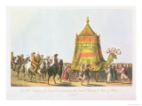 View of the Procession of the Sacred Camel Preparatory to the Annual Pilgrimage to Mecca and Medina Giclee Print by Cooper Willyams