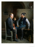 The Wine Tasting, or a Good Vintage Giclee Print by Friedrich Friedlander