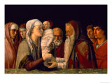 The Presentation of Jesus in the Temple Lámina giclée por Giovanni Bellini