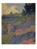 Melancholia, or Breton Eve, C.1890 Giclee Print by Paul Serusier