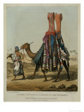 Camel Conveying a Bride to Her Husband Giclee Print by Captain George Francis Lyon