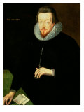 Portrait of Sir Robert Cecil 1st Viscount Cranborne and 1st Earl of Salisbury Giclee Print by John De Critz