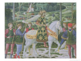 John VII Palaeologus, Eastern Roman Emperor, as One of the Three Kings Giclee Print by Benozzo di Lese di Sandro Gozzoli