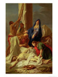 The Descent from the Cross, 1704-10 Giclee Print by Jean-Baptiste Jouvenet