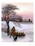 And Dick the Shepherd Blows His Nail, 1886 Giclee Print by Edward Frederick Brewtnall
