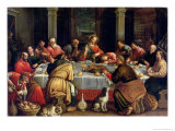 The Last Supper Giclee Print by Leandro Da Ponte Bassano