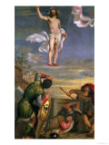 The Resurrection of Christ Giclee Print by  Titian (Tiziano Vecelli)