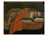 Portrait of the Newborn Federigo Di Urbino, 1605 Giclee Print by Federico Barocci
