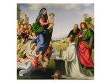 Apparition of the Virgin to St. Bernard Giclée-tryk af Fra Bartolommeo