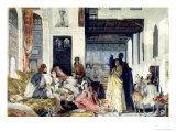 The Harem Giclee Print by John Frederick Lewis