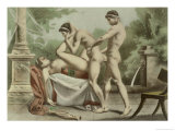 "Ancient Times, Plate XVIII from ""De Figuris Veneris"" Giclee Print by Edouard-henri Avril"
