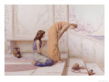 The Broken Pot Giclee Print by Henry Ryland