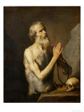 St. Onuphrius, 1637 Giclee Print by Jusepe de Ribera
