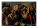 The Massacre of the Innocents Giclee Print by Francesco De Rosa