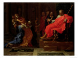 Esther Before Ahasuerus, Late 1650s Giclee Print by Nicolas Poussin