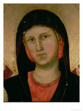 Madonna, from Madonna and Child Enthroned (Detail) Giclee Print by  Giotto di Bondone