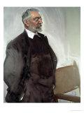 Portrait of Miguel De Unamuno Y Jugo, Spanish Philosopher and Writer Giclee Print by Joaquín Sorolla y Bastida