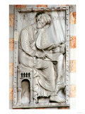 St. Luke, Relief from the North Side of the Basilica, 12th-13th Century Giclee Print