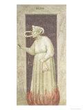 Envy, circa 1305 Giclee Print by  Giotto di Bondone