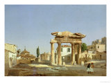 The Gate of Agora in Athens, 1843 Giclee Print by Ippolito Caffi