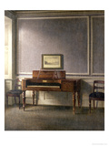 The Music Room Giclee Print by Vilhelm Hammershoi