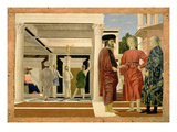The Flagellation of Christ, C.1463-4 (Tempera on Panel) Giclee Print by  Francesca