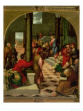 Christ Among the Doctors Giclée-Druck von Bonifacio Veronese