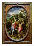 Deucalion and Pyrrha, 1572 Giclee Print by Andrea Di Mariotto Del Minga