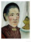 Portrait of Josephine, the Artist's Second Wife, circa 1900-03 Giclee Print by Henri Rousseau