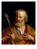 St. Joseph Giclee Print by  Guercino (Giovanni Francesco Barbieri)