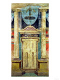 Wall Decoration from the Villa of P Fannius at Boscoreale, Near Pompeii Giclee Print