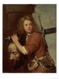 David Bearing the Head of Goliath, 1643 Giclee Print by Jacob Van Oost