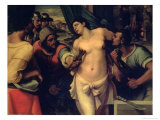 The Martyrdom of St. Agatha, 1520 Giclee Print by Sebastiano del Piombo