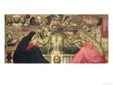 Man of Sorrows with Instruments of the Passion, 1404 Giclée-tryk af Lorenzo Monaco