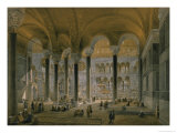 Hagia Sophia, Plate 6: the North Nave Giclee Print by Gaspard Fossati