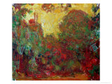 The House at Giverny, 1922 Giclee Print by Claude Monet