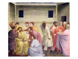 The Mocking of Christ, circa 1305 Giclee Print by  Giotto di Bondone