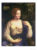 Flora, circa 1520 Giclee Print by Francesco Melzi Or Melzo