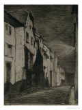 Street in Saverne, 1858 Giclee Print by James Abbott McNeill Whistler