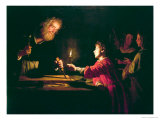 The Childhood of Christ, circa 1620 Premium Giclee Print by Gerrit van Honthorst