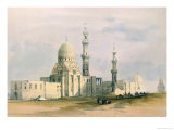 Tomb of Sultan Qansuh Abu Sa'Id, 1499, in the Eastern Cemetery or Tombs of the Caliphs, Cairo Giclee Print by David Roberts