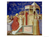 The Presentation of the Virgin at the Temple, circa 1305 Giclee Print by Giotto di Bondone